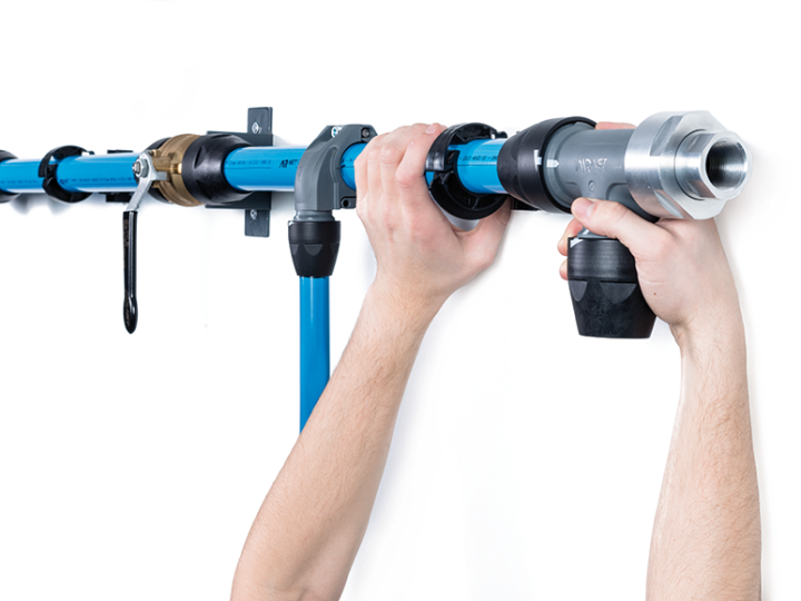 Does piping connection material impact performance?